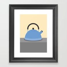 #34 Kettle Framed Art Print