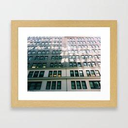 Dreaming Up High. Framed Art Print