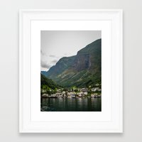 norway Framed Art Prints featuring Norway by Michelle McConnell