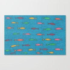 School of Fish Canvas Print