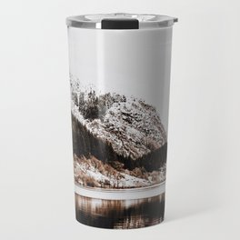 LAKE - OCEAN - BAY - SNOW - MOUNTAINS - HILLS - PHOTOGRAPHY Travel Mug
