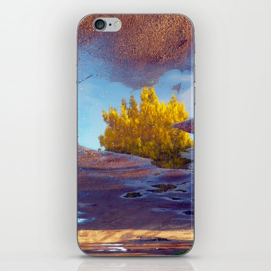 Spring in a puddle! iPhone & iPod Skin