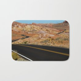 Desert Highway Bath Mat