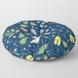 Florals Floor Pillow