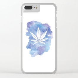One Love: Blue Clear iPhone Case