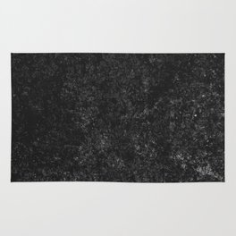 Black Marble texture Rug