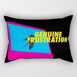 Genuine Frustration  Rectangular Pillow