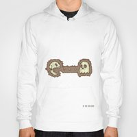 pac man Hoodies featuring Dead Pac-Man by Adel