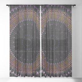 Magical Mandala Sheer Curtain