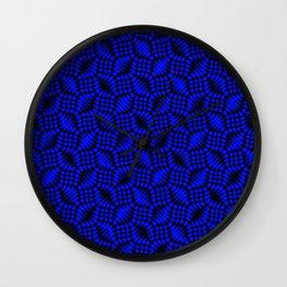 Blue shells Wall Clock