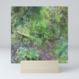 Goldstream Moss Waterfall No. 1 Mini Art Print