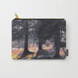 Fall Sunset in the Northwoods Carry-All Pouch
