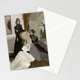 The Fox Sisters Stationery Cards
