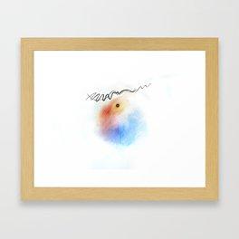 Random Abstract Framed Art Print