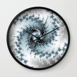 Fractal Vortex Wall Clock