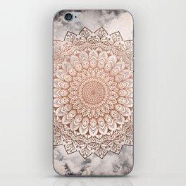 ROSE NIGHT MANDALA iPhone Skin