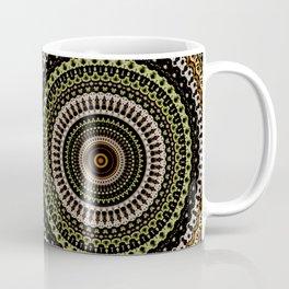Fractal Kaleido Study 001 in CMR Coffee Mug