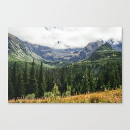 Tatry Koscielec Orla Perc Mountains Canvas Print