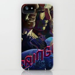FRINGE ILLUSTRATION TV SERIES iPhone Case