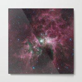 1390. The Tortured Clouds of Eta Carinae Metal Print