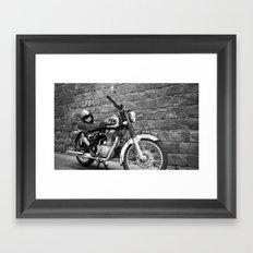 Motorbike. Framed Art Print