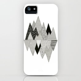 Lost in Mountains iPhone Case