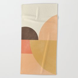 geometric abstract 21 Beach Towel
