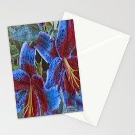 Wild Lilies Stationery Cards