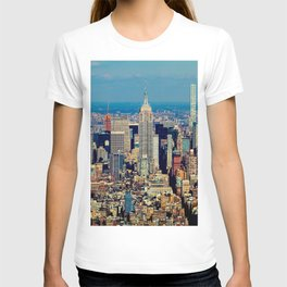 NYC Cityscape (Color) T-shirt