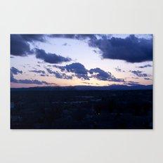 NM Sunset 4 Canvas Print