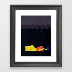 Waiting to Die Framed Art Print