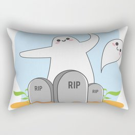 The Happy Ghost Rectangular Pillow