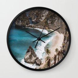 What a beach Wall Clock