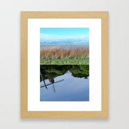 """""""Upside down world 03"""" Framed Art Print"""