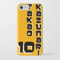 kuroko iPhone & iPod Cases featuring kazunari Takao by Selis Starlight