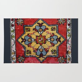 Antique Carpet Sadle Bag Rug