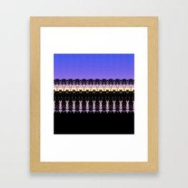 Sunset in Indonesia Framed Art Print