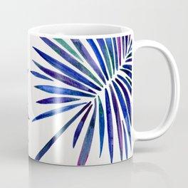 Tropical Fan Palm – Indigo Coffee Mug