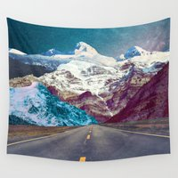 android Wall Tapestries featuring The Last Stretch by Jenna Davis Designs