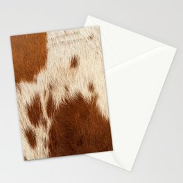 Cowhide Farmhouse Decor Stationery Cards