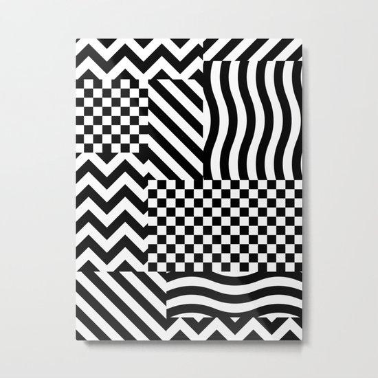 Dazzle 01 Metal Print