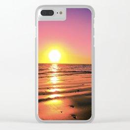 Rota Spain Beach 3 Clear iPhone Case