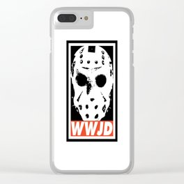 What Would Jason Do Clear iPhone Case