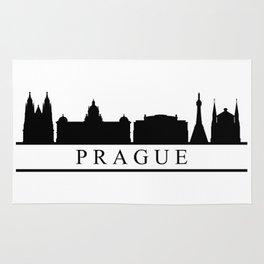 skyline prague Rug