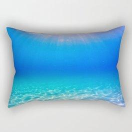 One Deep Breath Rectangular Pillow