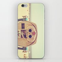 miles davis iPhone & iPod Skins featuring Miles and Miles by Melanie Alexandra Photography