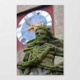 The Death   Der Tod Canvas Print