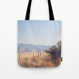 Marfa Morning Light Tote Bag
