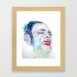 El chino Framed Art Print