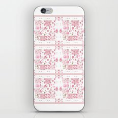Shabby Chic Dream Catcher and feather Patchwork iPhone & iPod Skin